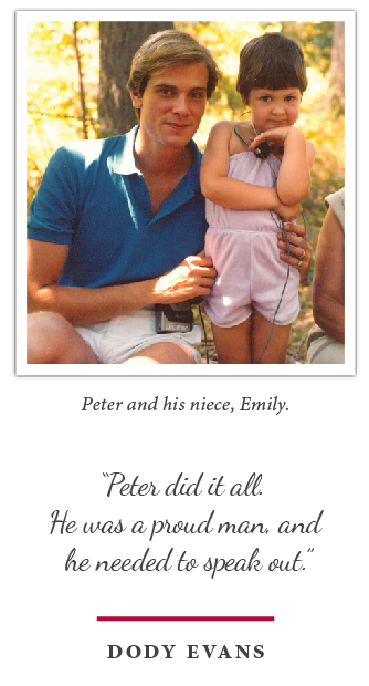 Remembering Peter Evans