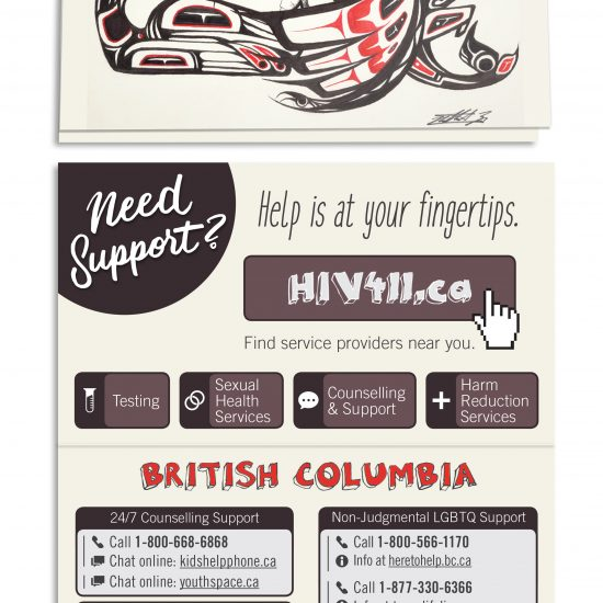 Provincial youth cards, British Columbia