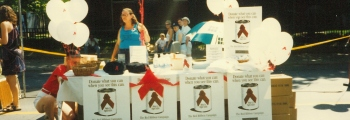 1991: First CIAR Award Granted and Red Ribbon Campaign was launched.