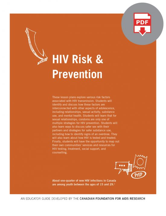 Educator Guide: HIV Risk & Prevention (Digital)