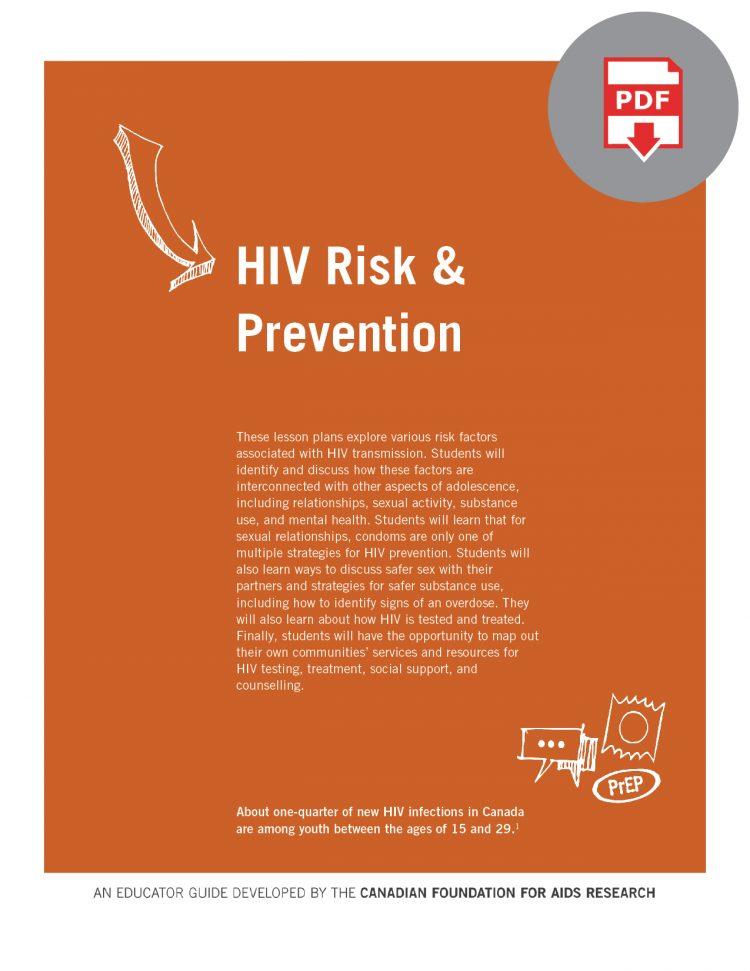 Educator Guide: HIV Risk & Prevention (Digital)
