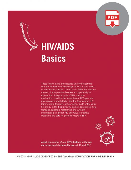 Educator Guide: HIV/AIDS Basics (Digital)