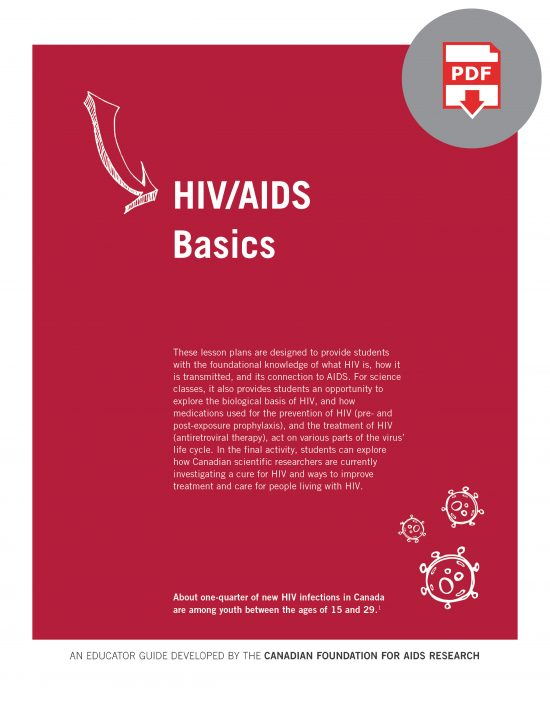 HIV Educator Guide: HIV/AIDS Basics (Digital)