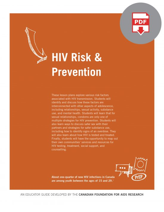HIV Educator Guide: HIV Risk & Prevention Digital