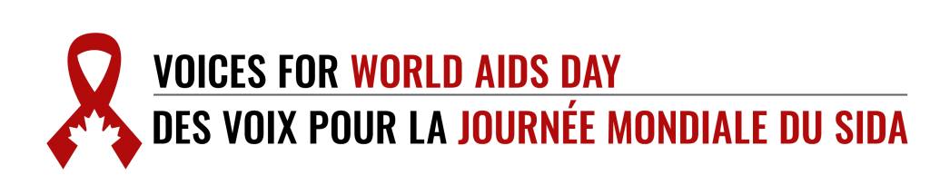 Voices for World AIDS Day Logo