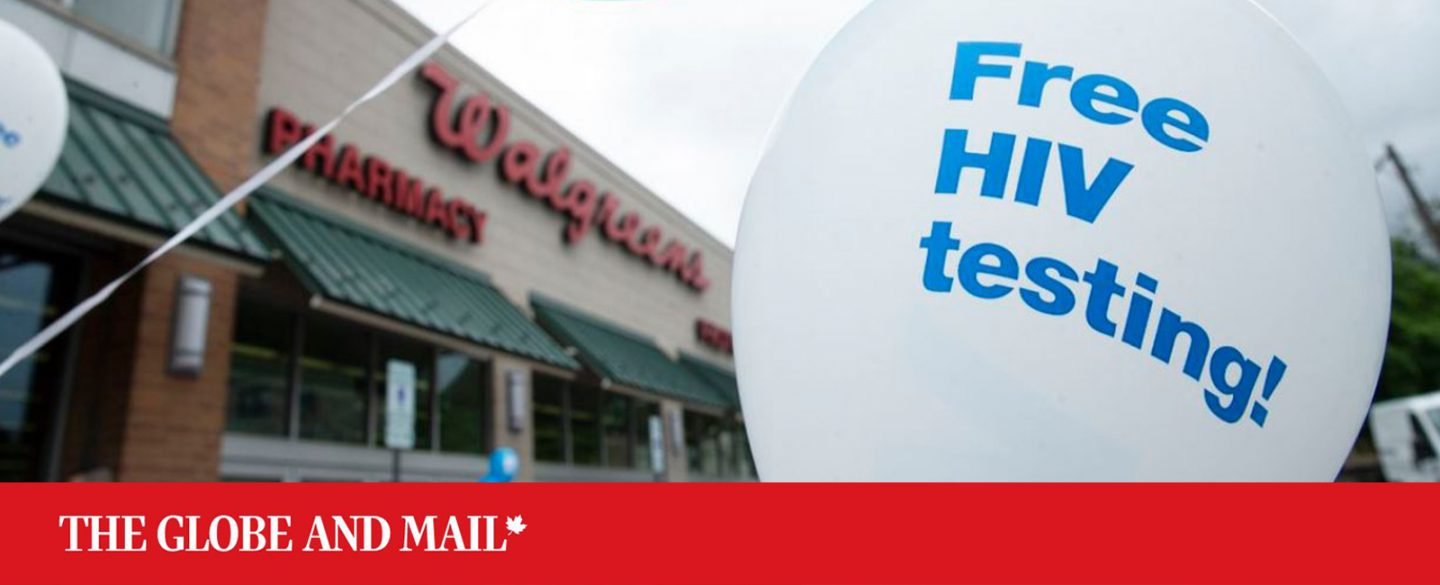 Walgreens and Greater Than AIDS partner with local organizations to promote free HIV testing and information in stores across the U.S., on National HIV Testing Day on June 27, 2018, in Chicago.