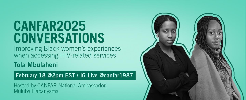 CANFAR2025 Conversations: Tola Mbulaheni