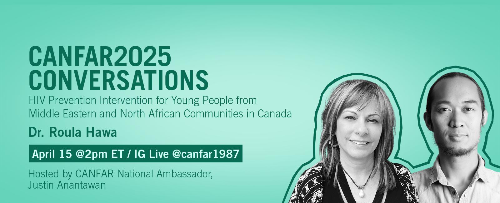 CANFAR2025 Conversations: Dr. Roula Hawa